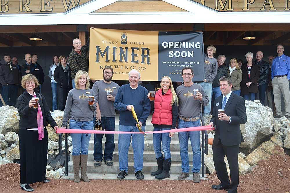 Miner Brewing Company opened near Hill City, South Dakota, in November 2013