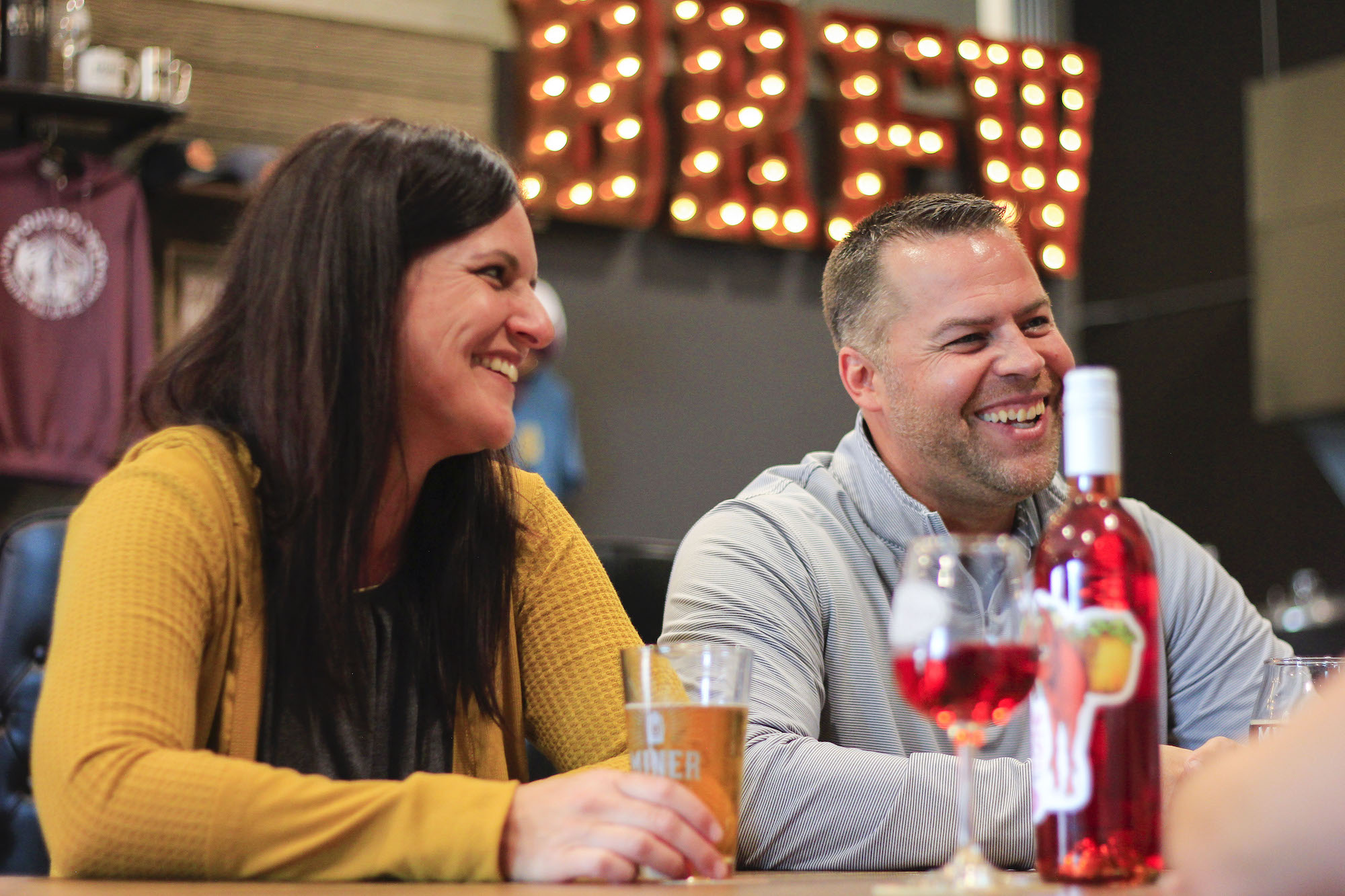 Guests in Sioux Falls, South Dakota, can enjoy Miner Brewing craft beer and Prairie Berry Winery wines at our Taproom located at the Western Mall.